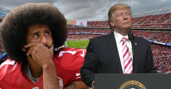 NFL players explode in response to Donald Trump's national anthem comments
