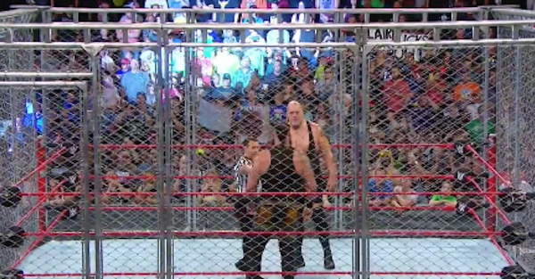 WWE Raw results: Steel cage match main event, Miz's IC title streak, new No. 1 contender