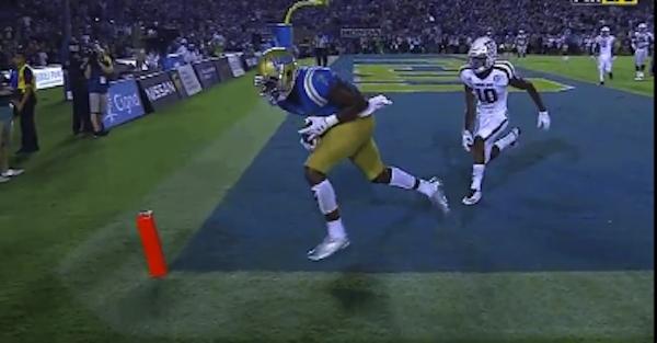 Did refs botch UCLA's game-winning touchdown over Texas A&M?
