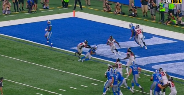 Controversial ruling takes game-winning touchdown away from Lions as clock expires