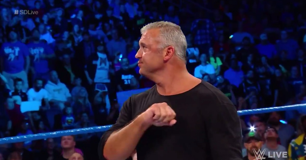 WWE SmackDown Live results: Shane suspended, Mr. McMahon returning next week
