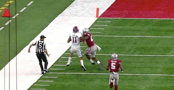 The refs stole a touchdown from Texas A&M in one of the worst calls of the year