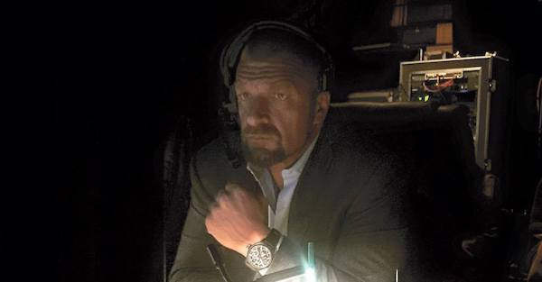 Rising WWE star explains how Triple H comforted him while flailing in NXT