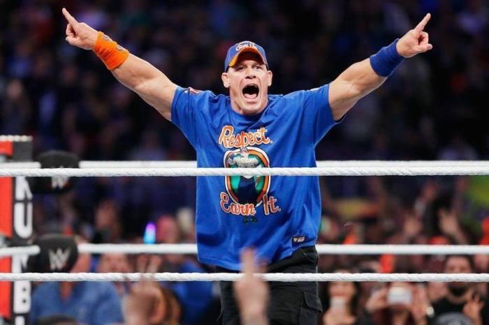John Cena's path to WrestleMania could go through the Smackdown Live main event