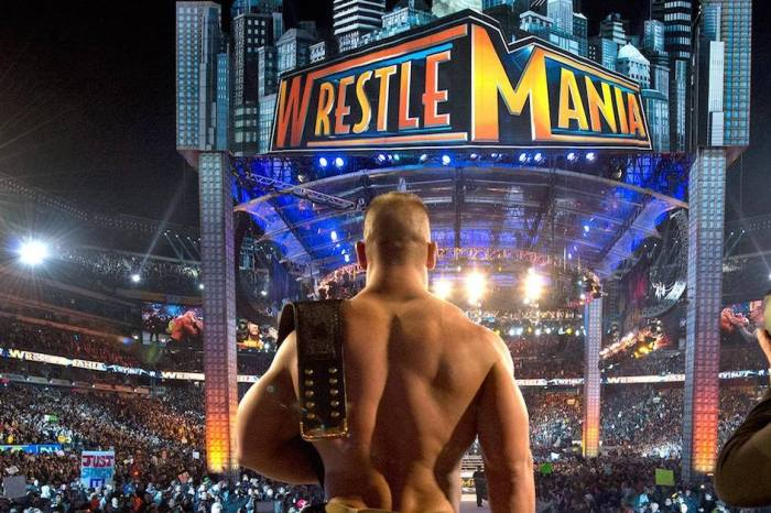 John Cena reportedly on track for one of the biggest matches at WrestleMania 34