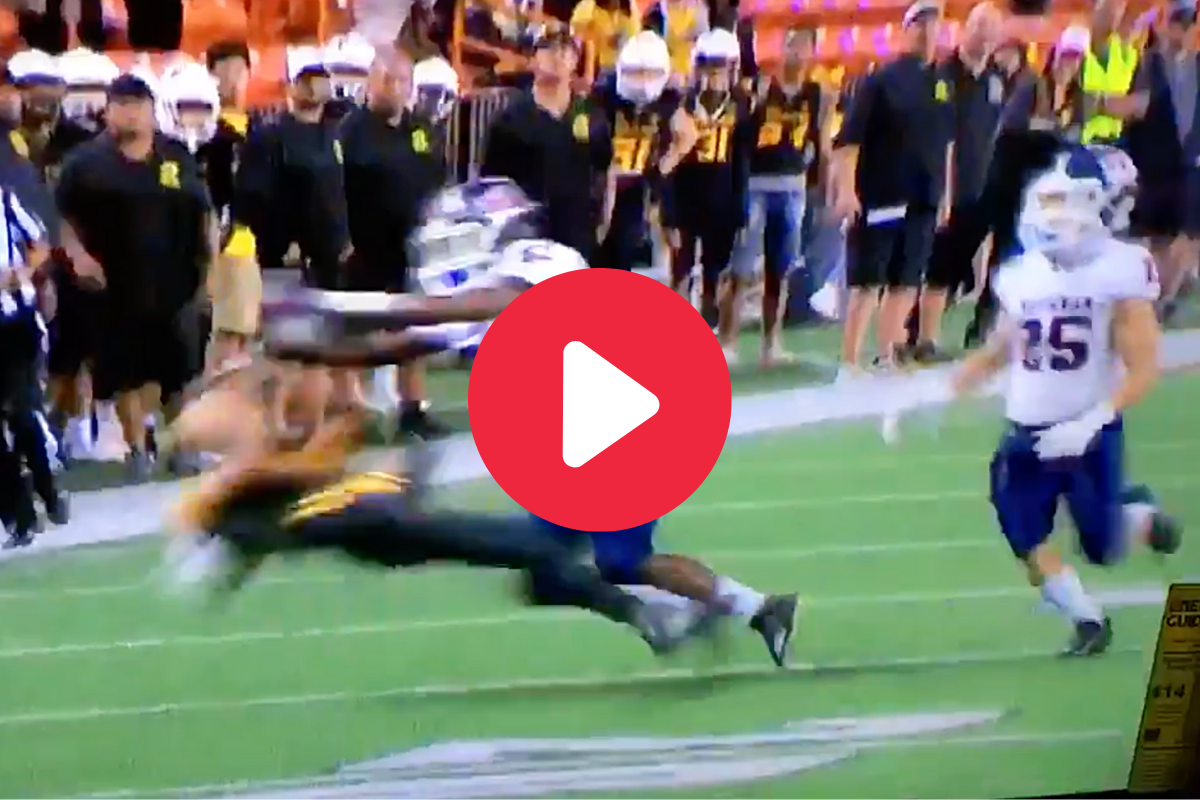Massive Targeting Hit Gets High Schooler Ejected Instantly