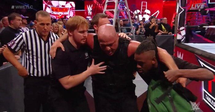 WWE TLC main event: Kurt Angle returns to the ring with The Shield vs. Kane, Miz, The Bar and Braun Strowman
