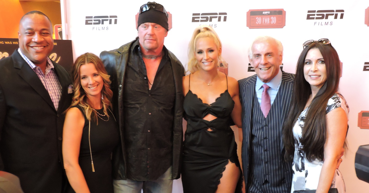 Ric Flair 30 for 30 ESPN The Undertaker Atlanta