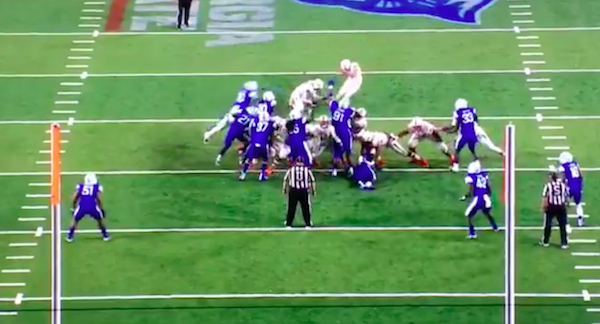 Kicker somehow connects on incredible three-bounce field goal in Sun Belt game