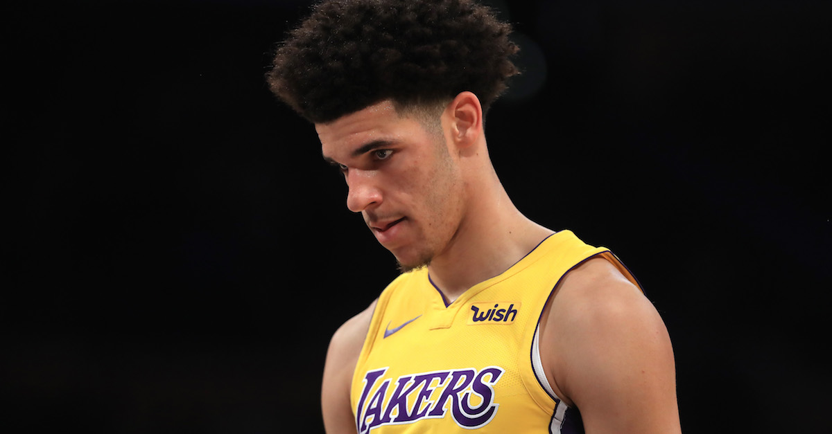 "Former NBA No. 1 pick promises to show ""no mercy"" to rookie Lonzo Ball"