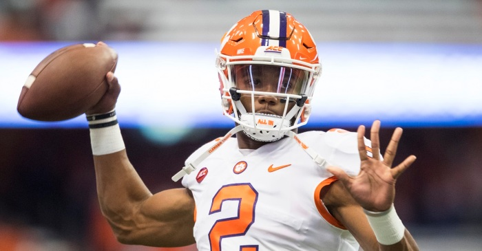Clemson looking to be 'cautious' with QB after nightmare scene against Syracuse