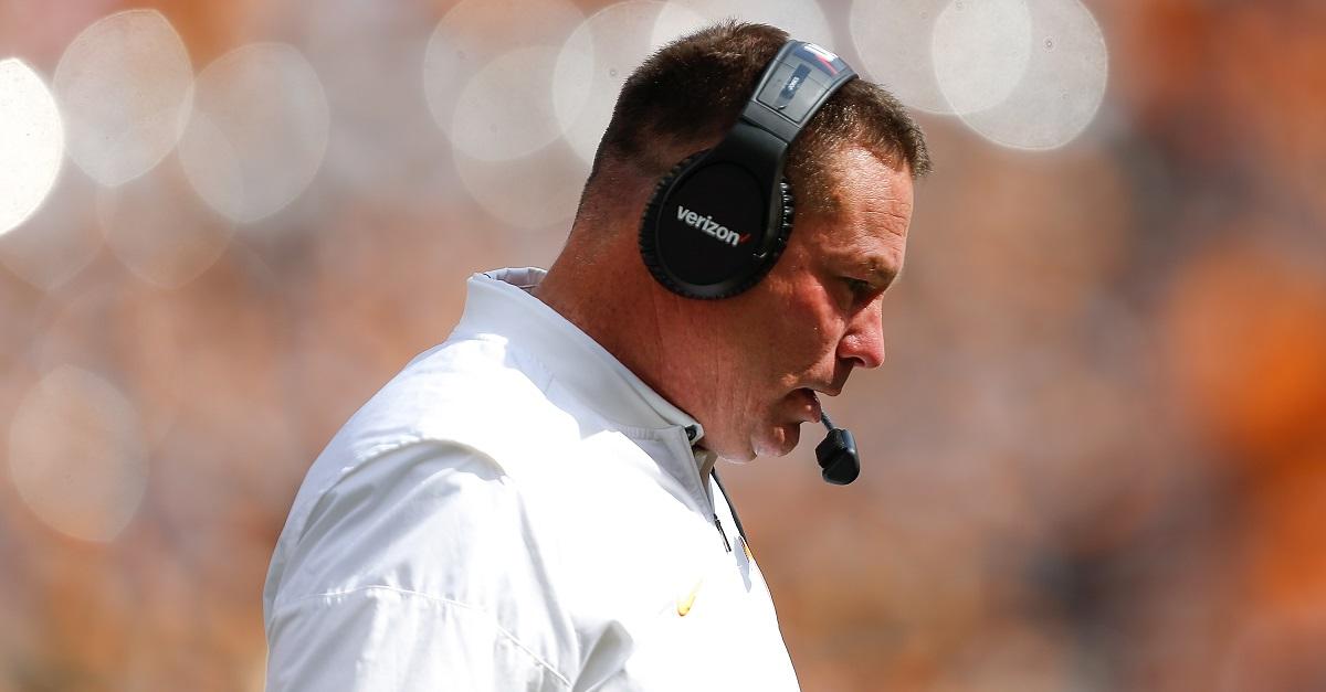 Butch Jones wastes quarterback's redshirt for three plays