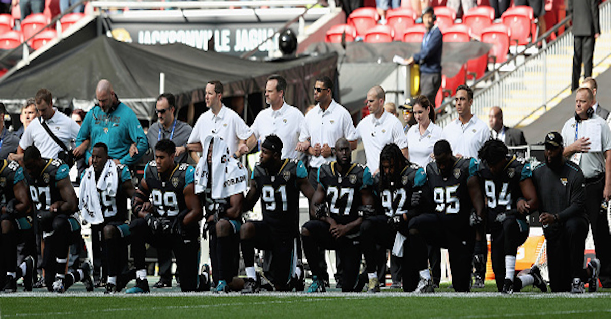 NFL team has now apologized for its national anthem demonstration