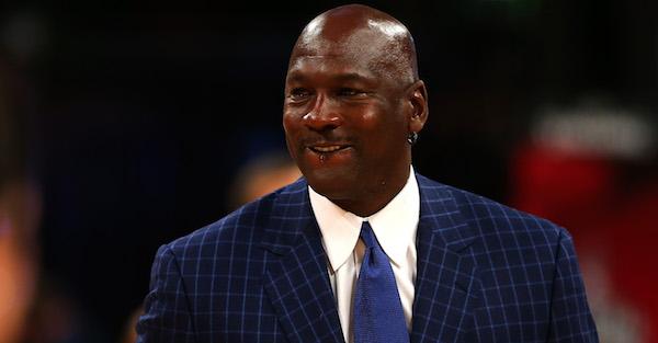 "Michael Jordan takes a shot directly at the ""super team era"""