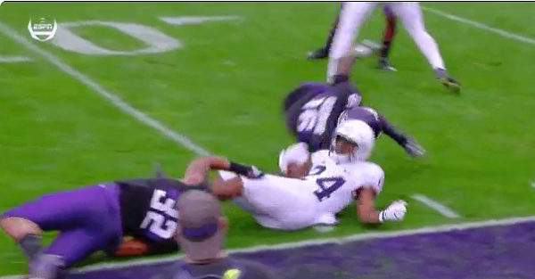Big Ten defender ejected after the weakest targeting call of the season