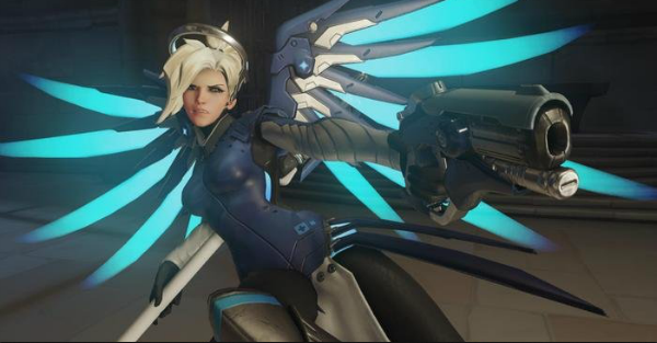 Blizzard is currently testing new changes to Mercy in Overwatch PTR