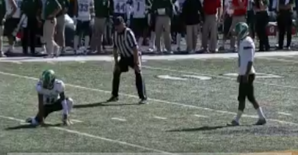 Commentator attempts to clarify one of the strangest play-by-play calls ever