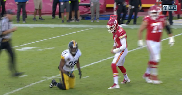 Steelers defender has been punished for low, dirty hit on two-time former Pro Bowler