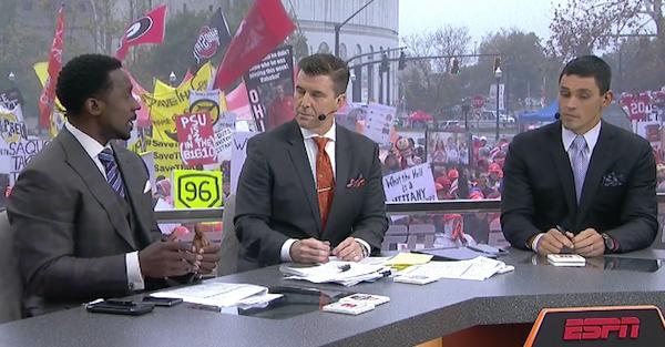 "ESPN's Desmond Howard calls one former national title contender ""mentally fragile"""