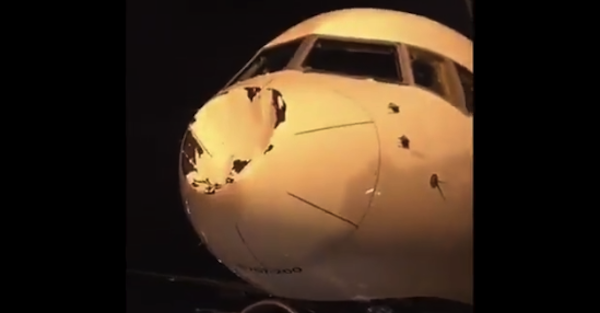 Oklahoma City Thunder experience bizarre issue with damaged plane
