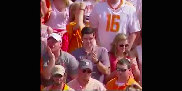 Tennessee fan caught making NSFW gesture during live ESPN broadcast