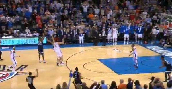 Former Rookie of the Year hits buzzer-beating game-winner to take down OKC and Russell Westbrook
