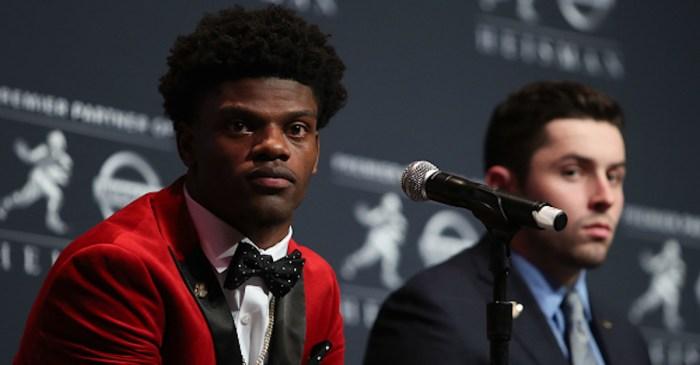 Former Heisman winner Lamar Jackson formally announces decision on his football future