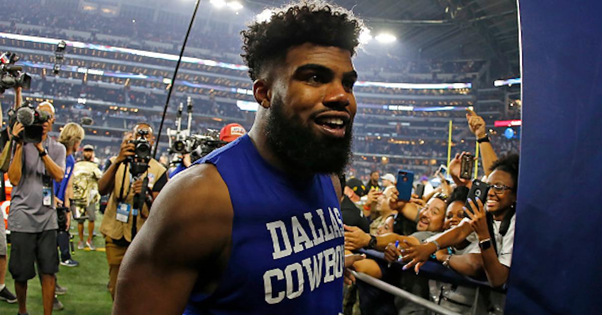 Dallas Cowboys CEO praises and chides Ezekiel Elliott after tumultuous 2017 season