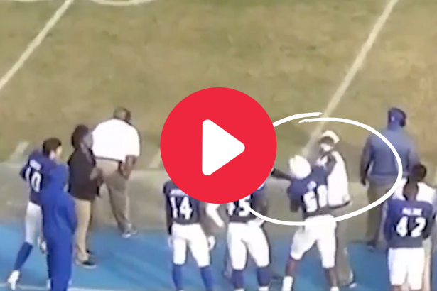 Football Player Punched His Coach Twice & Got Expelled