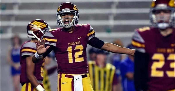 Four-star Tennessee quarterback Adrian Martinez has flipped to another school