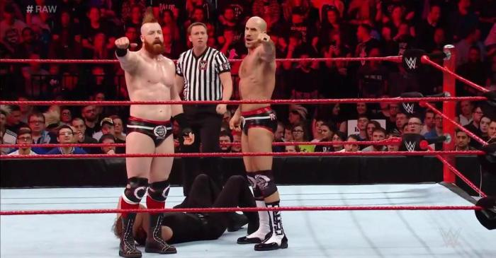WWE Monday Night Raw results: RAW across the pond, new Tag Team champs crowned