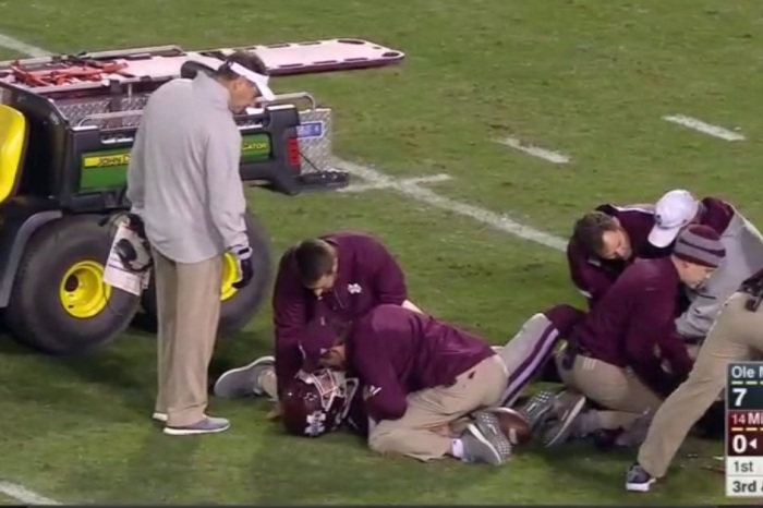 Here's the latest following Mississippi State QB Nick Fitzgerald's brutal leg injury