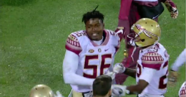 Florida State player is ejected after dirty targeting play and that's not the worst part