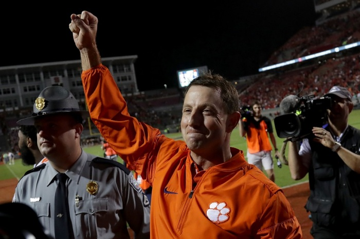 ACC responds to Clemson's explanation for having a laptop on the sideline