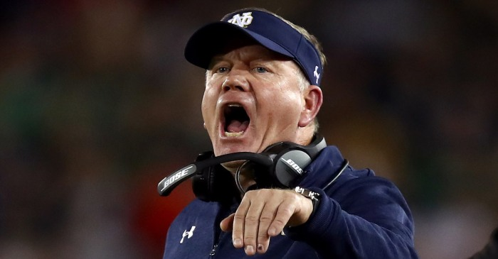 No. 8 Notre Dame's slim College Football Playoff dreams dashed with yet another loss