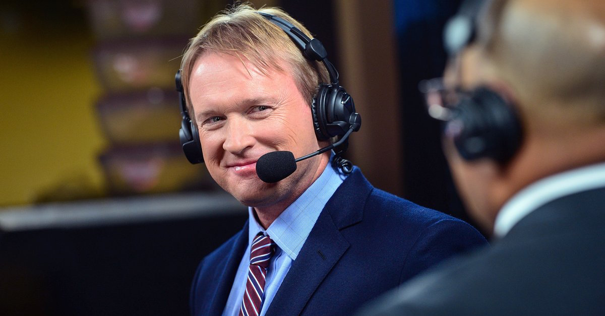 Jon Gruden believes 'there's a good chance' he'll be next Raiders coach