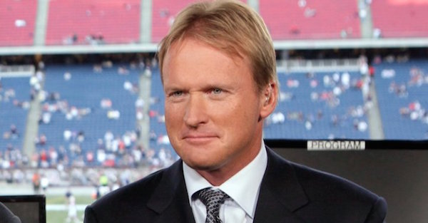 One potential landing spot for Jon Gruden is officially off the market