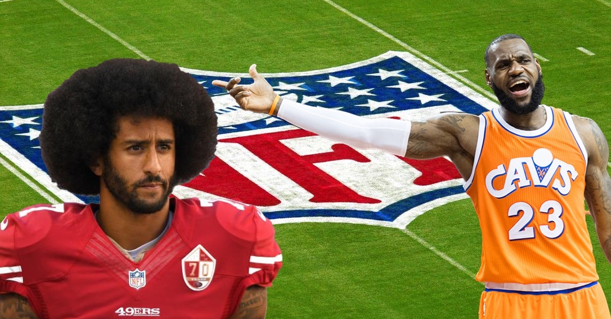 LeBron James opens up on banished former NFL QB Colin Kaepernick