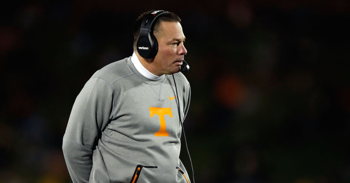 Report: Butch Jones contacted about another open coaching job