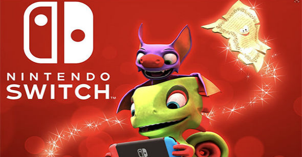 Yooka-Laylee is coming to the Nintendo Switch this December