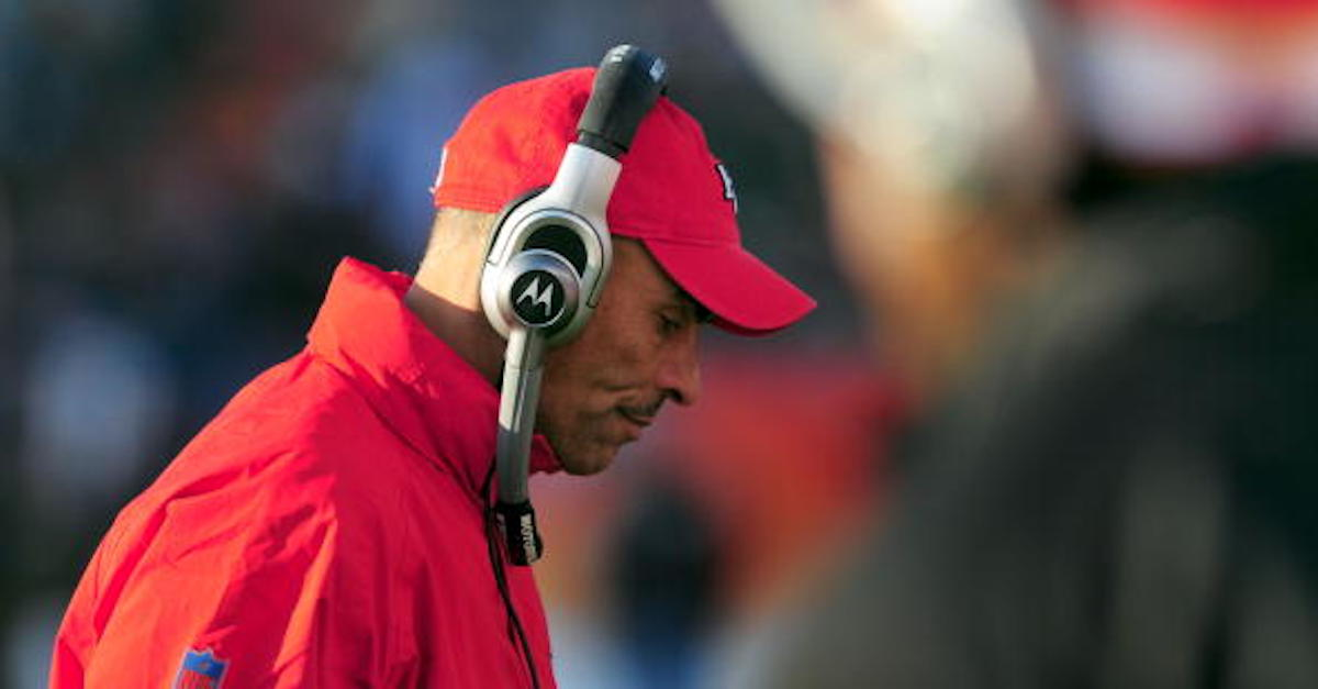Herm Edwards has made a coaching change after losing both of his coordinators