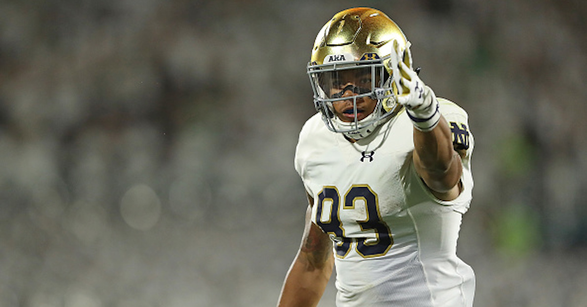 Notre Dame loses key contributor ahead of bowl game against LSU
