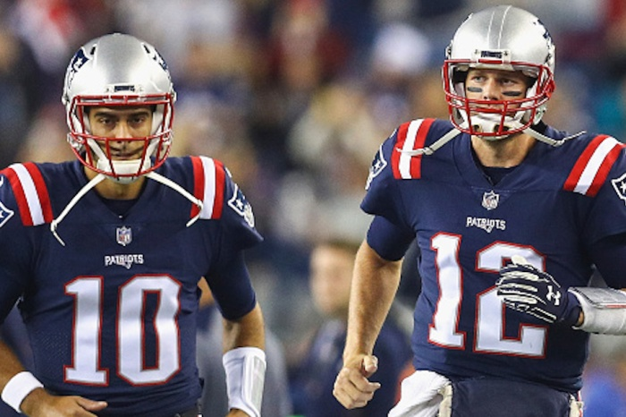 Patriots QB Tom Brady finally speaks out on traded quarterback Jimmy Garoppolo
