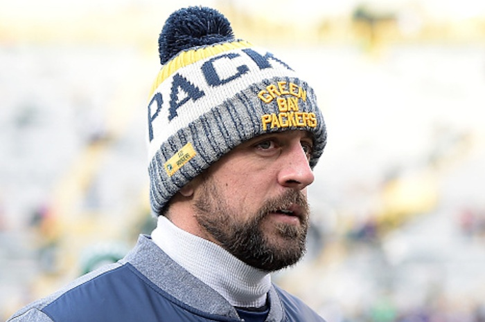 Aaron Rodgers may be somehow making progress toward an unlikely return this season