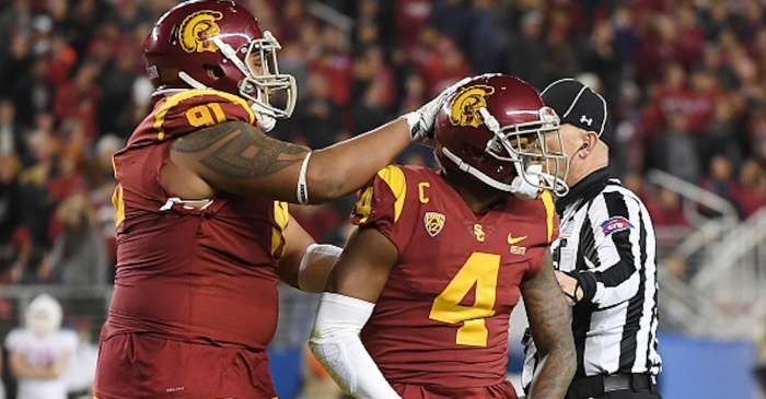 Our thoughts are with a USC defender, who won the Pac-12 title after suffering an awful loss