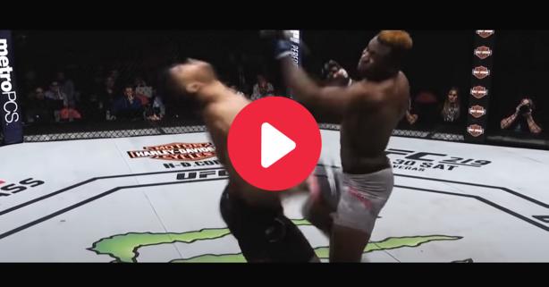 Francis Ngannou's Uppercut Knockout Lives Among UFC's Most Iconic