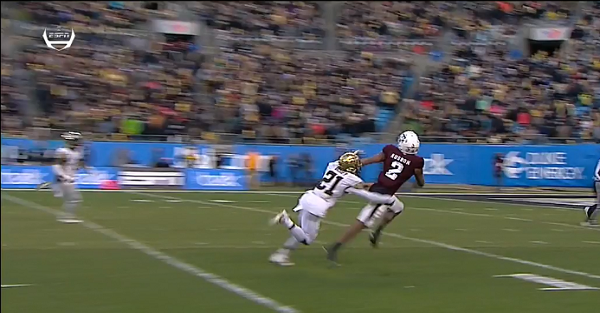Texas A&M might have been shafted in Belk Bowl by late no-call