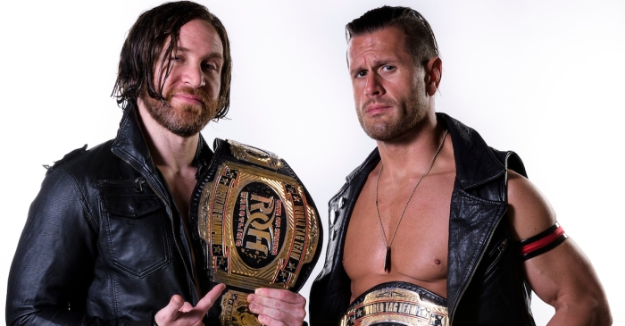 At Final Battle, Alex Shelley and Chris Sabin look to keep pace as the team to beat in Ring of Honor