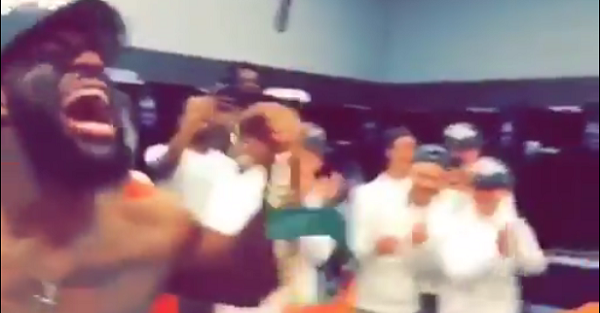 Clemson disrespects Miami in locker room celebration after ACC title game blowout