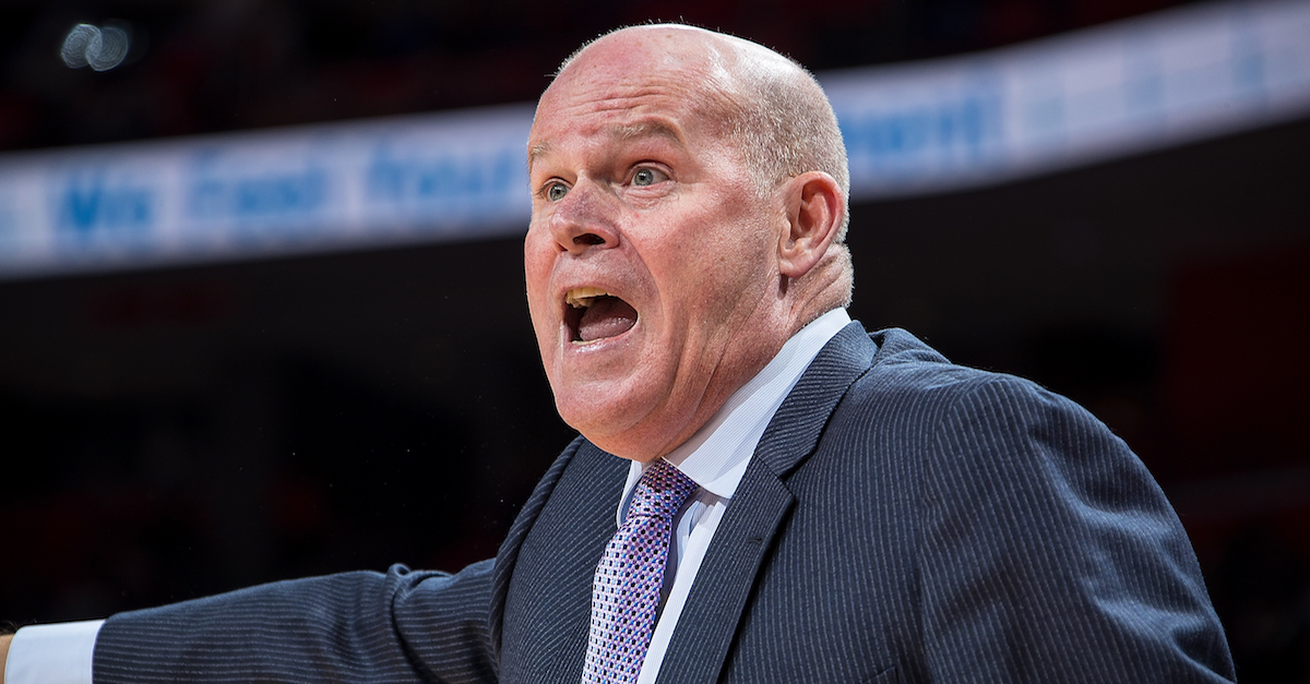 NBA head coach to step away from team for the immediate future
